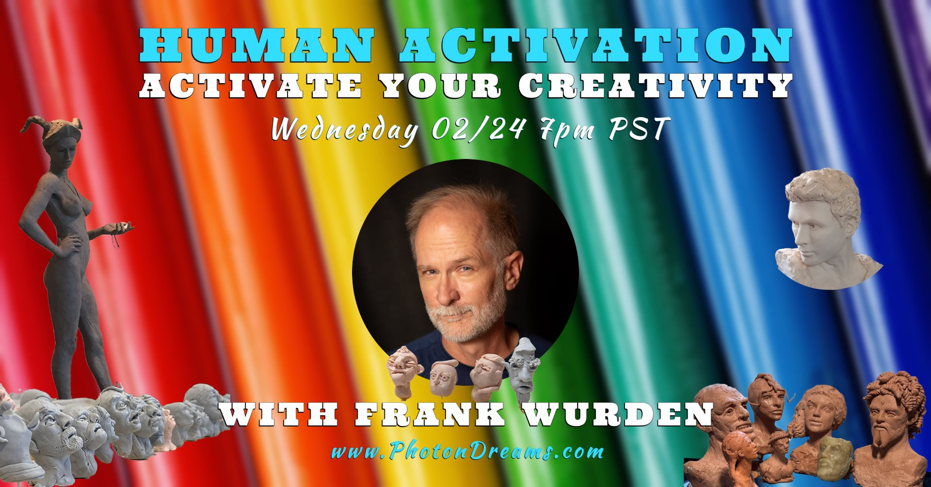 Activate Your Creativity - Sculpt with Frank